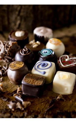 Selection of handmade chocolates - Box of 24