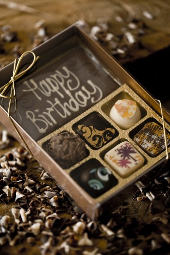 Personalised Truffles - Box of 6