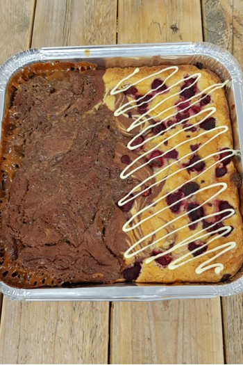 Best of Both Brownie Tray