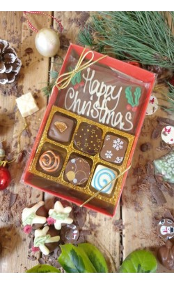 Happy Christmas Truffles - Box of 6