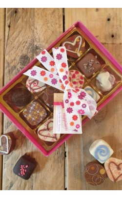 Spring Chocolates Selection - Box of 12