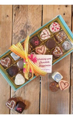 Spring Chocolates Selection - Box of 18